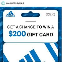 Get a $200 Adidas Gift Card!