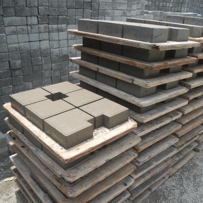 Pavng block type ubin set