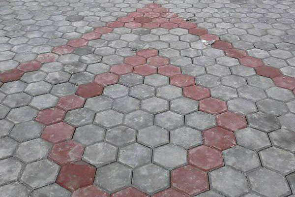 Paving block project