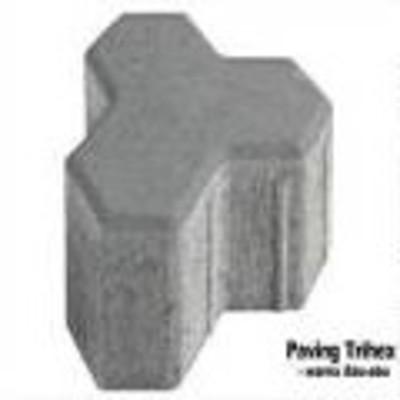 Paving block type tryhex